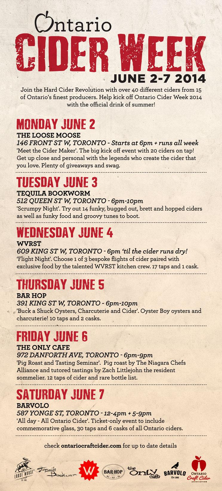 Cider Week 2014